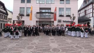 Schützenfest 2011 - Platzkonzert auf dem Ahrweiler Marktplatz