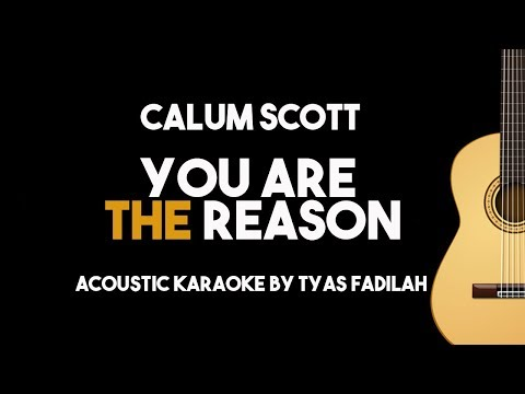Calum Scott - You Are The Reason (Acoustic Guitar Karaoke Version)