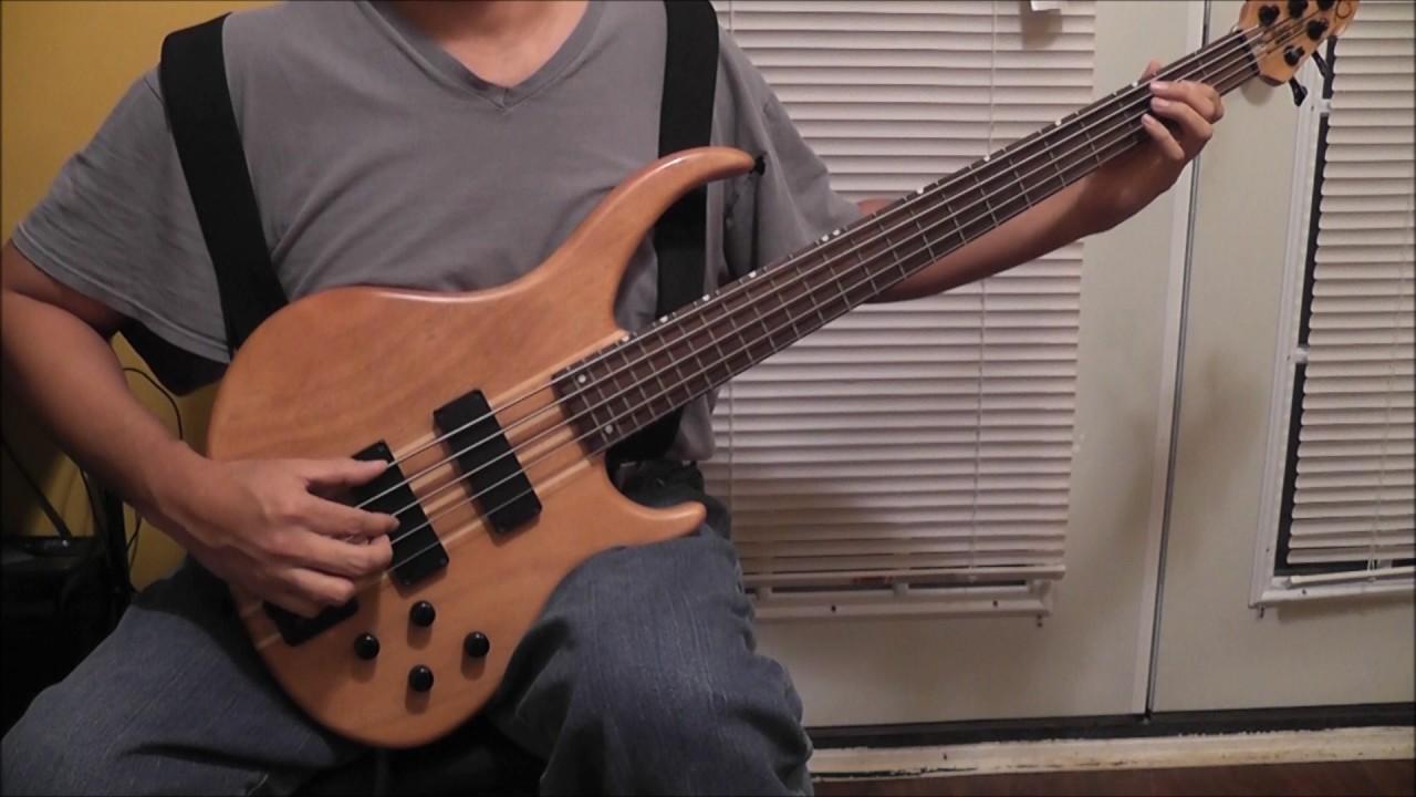 Blue Bayou Bass Cover Youtube