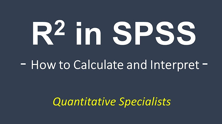 how to calculate and interpret r square in spss regression correlation