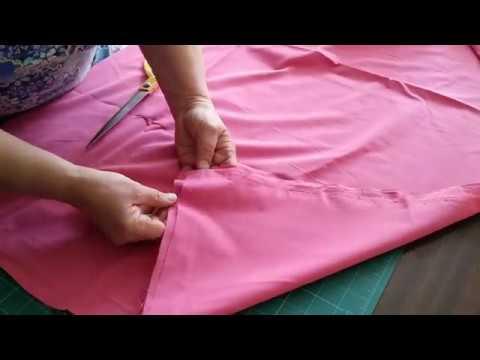 Как сшить насыпку для подушки видео