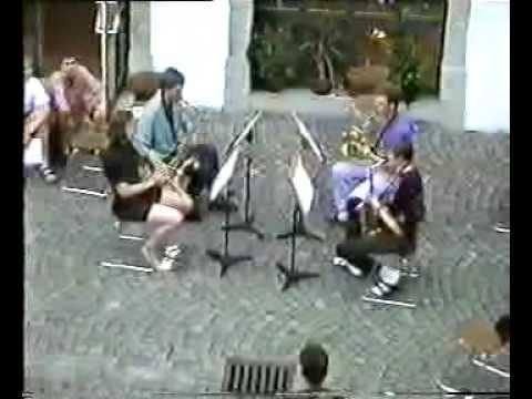 Blue Monk - Saxophone Quartet
