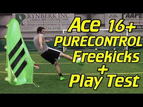 Laceless Adidas ACE 16+ PURECONTROL - Freekicks + Play Test