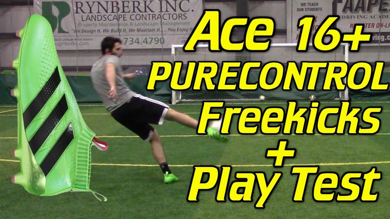 Laceless Adidas ACE 16+ PURECONTROL Freekicks + Play Test