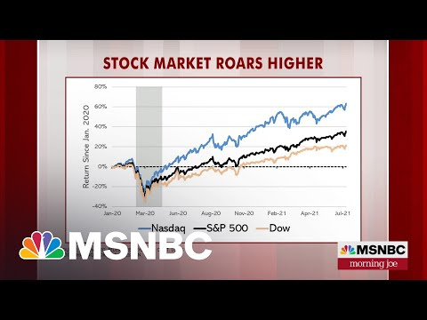 Stock Market Highs Owe A Lot To Washington, Says Steve Rattner   MSNBC