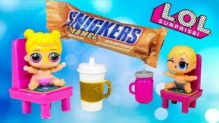 Куклы ЛОЛ малышки и Мороженое Мультик про Игрушки Видео для детей LOL Dolls
