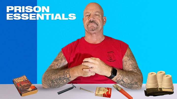 10 things a convict cant live without in prison  larry lawton  59