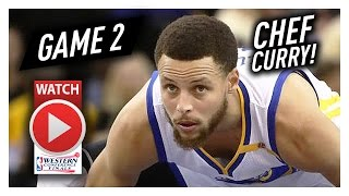 Stephen curry full game 2 highlights vs spurs 2017 playoffs wcf - 29 pts, 7 ast, 7 reb in 3 qtrs!