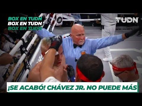 ¡Chávez Jr. no puede más! Daniel Jacobs se lleva la victoria | TUDN