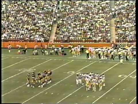 Chargers vs. Rams pre season, 1983