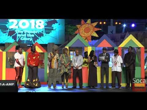Calypso Monarch Finals Results 2018 - Dimanche Gras 2018 Results Winner - 2018 Calypso King