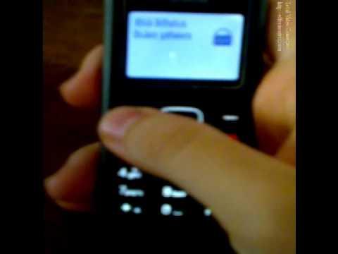 Bẻ khóa mã bảo vệ bàn phím cho Nokia 12021200 (How to unlock keypad Nokia 12021200)