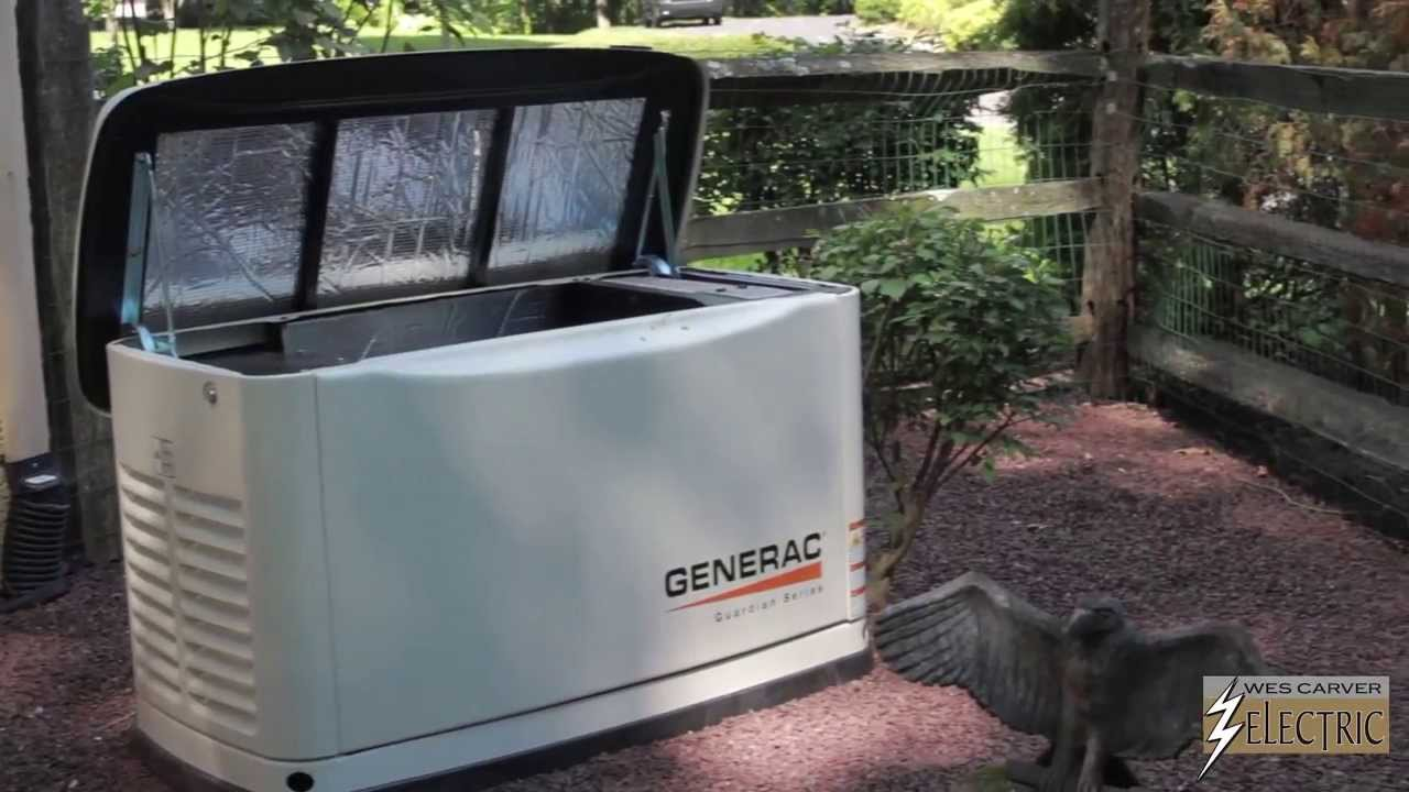 Backup Generator Tutorial By Wes Carver Electric Youtube
