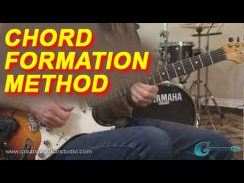 GUITAR THEORY: The Chord Formation Method