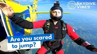 How to Overcome your Fear of Skydiving as a Skydiver