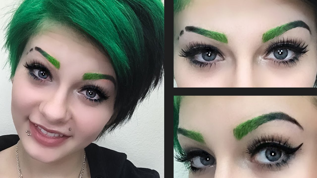 Image result for ombre eyebrows