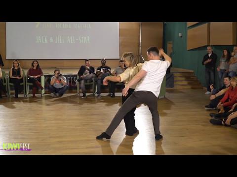 Semion Ovsiannikov & Ardena Gojani JnJ All stars 1st place