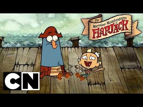 The Marvelous Misadventures Of Flapjack - Foot Burn (Clip)
