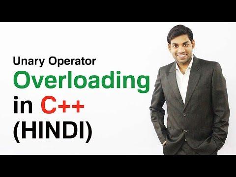 Unary Operator Overloading in C++ ( HINDI)