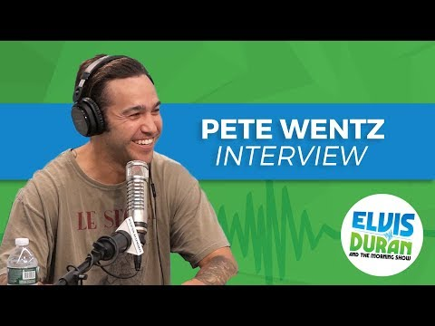 Fall Out Boy's Pete Wentz Admits That He's Incredibly Cheap  Elvis Duran