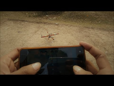 Bluetooth flying Drone | Mobile Controller Drone | Multiwii Drone