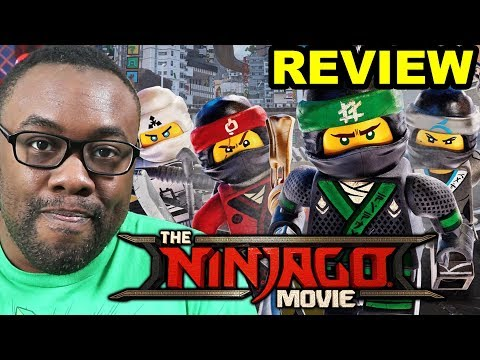 LEGO NINJAGO MOVIE REVIEW - Lego Power Rangers???