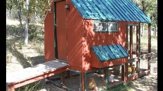 Little Red Chicken Coop At Pine Meadows Hobby Farm