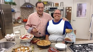 Howard And Sherry Gore - Strawberry Eggnog Pie