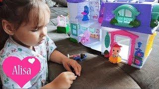 Алиса играет с кукольным домиком !!!! 3000 подписчиков ! Детский канал Little baby Алиса