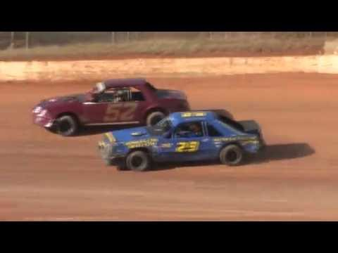 411 Motor Speedway | Sweetheart 52 | Mini Stocks | 2-22-14