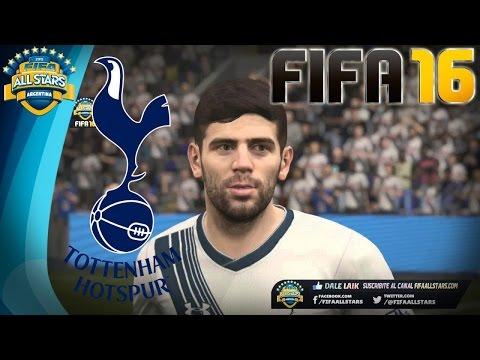 FIFA 16 Tottenham Hotspurs Faces / Caras - YouTube