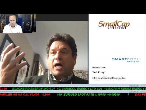 Interview mit Ted Konyi, CEO von Smartcool Systems WKN A0B7GJ
