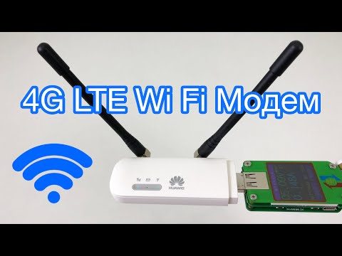 4G LTE Модем Huawei E8372 150 мб/сек Wi Fi с AliExpress