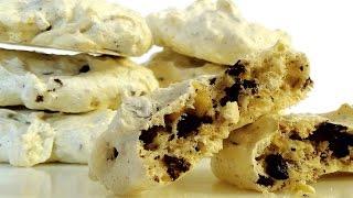 """""""Забытое"""" печенье. Хрустящее безе, орехи и шоколад."""