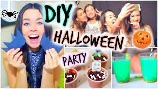 Halloween Party DIY Treats, Decor & Activities!