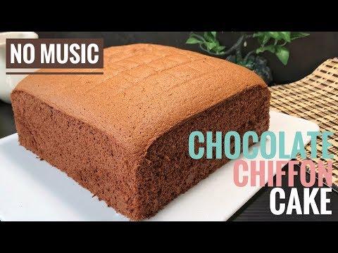 chocolate-chiffon-cake-recipes-|-cooking-asmr