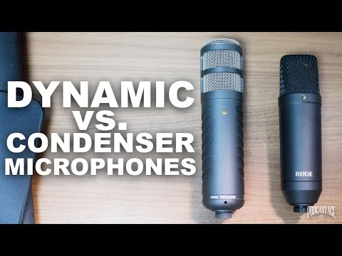 Dynamic vs Condenser Microphones, What's the Difference?