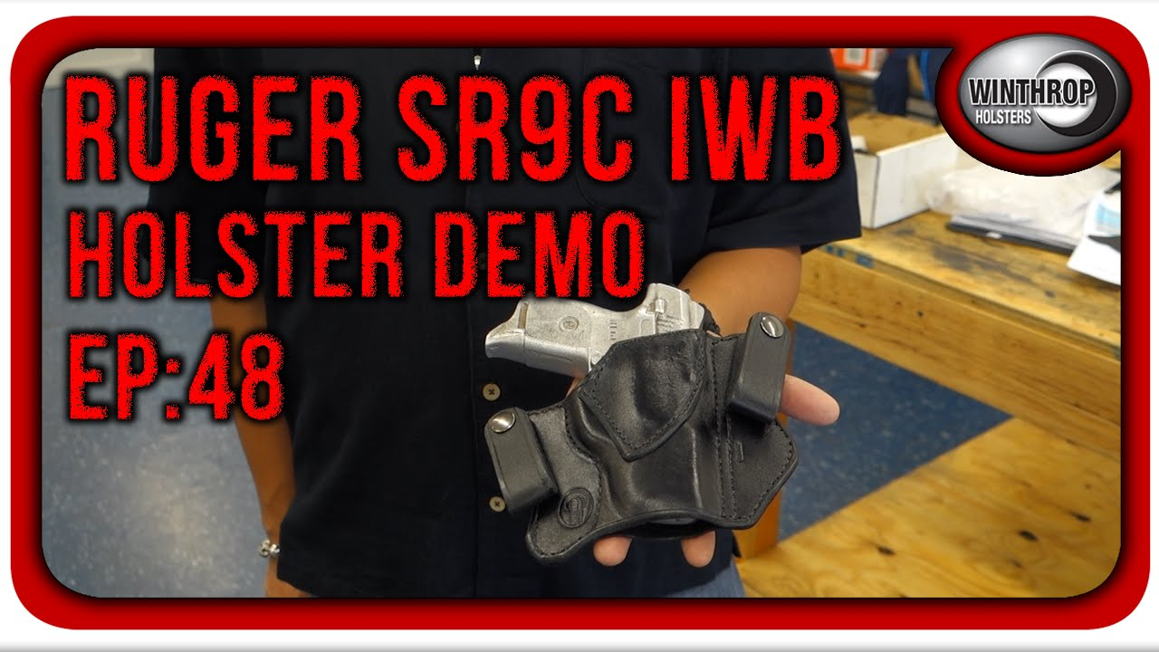 Ruger SR9c IWB Leather Holster By: Winthrop Holsters