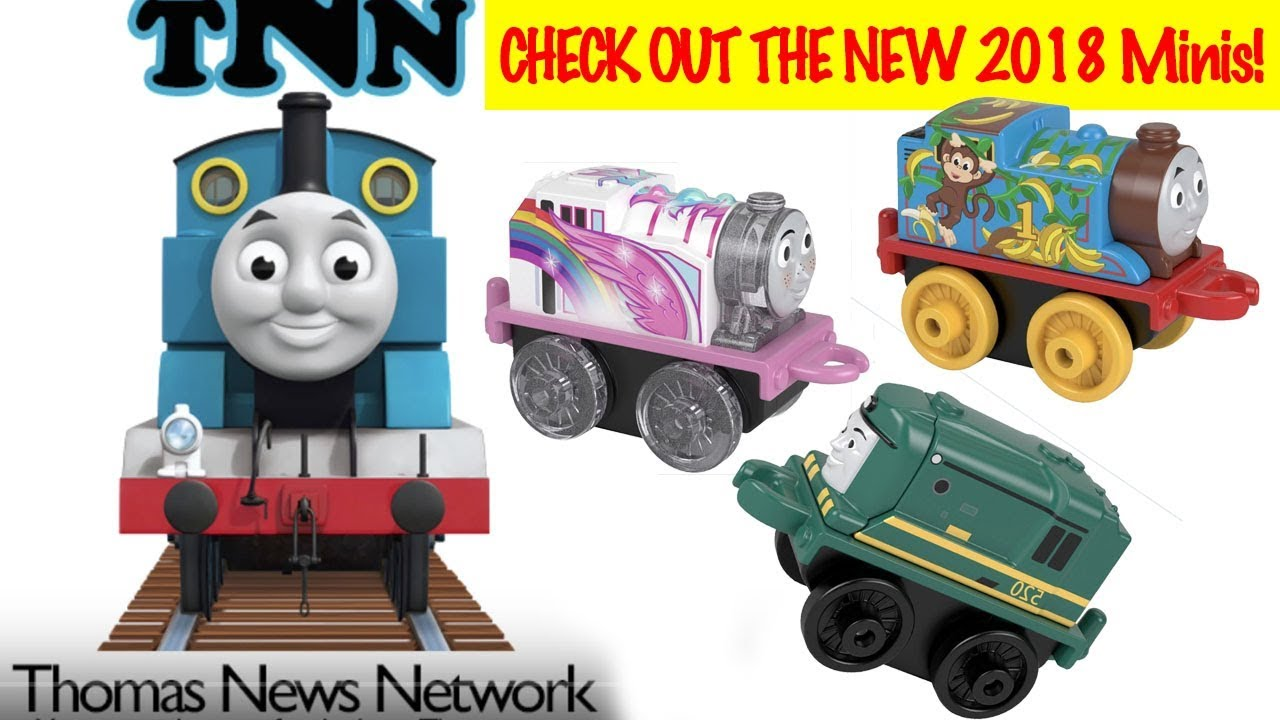 Thomas & Friends 2018 MINIS! See pictures of all of the NEW ones! Thomas News Network  (TNN)