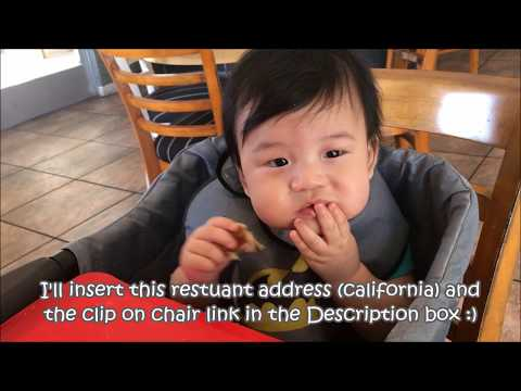 The Clip on high chair review / Weekend brunch with baby Jayden Vlog