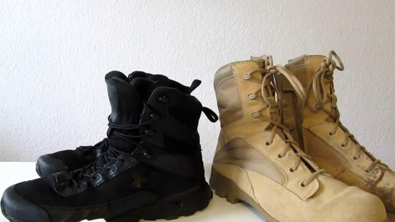 9dac79b0 Jak dbam o buty wojskowe na przykladzie: Bates Desert i Under Armour ,  recenzja Polska , pl , opis