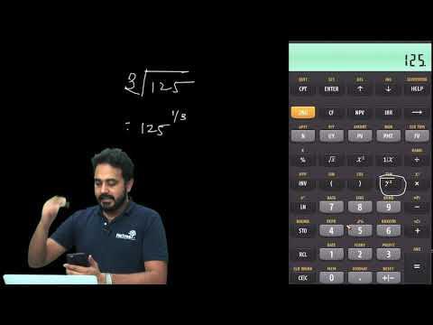 Texas Instruments BA II Plus Tutorial For CFA And FRM - Square Root Function