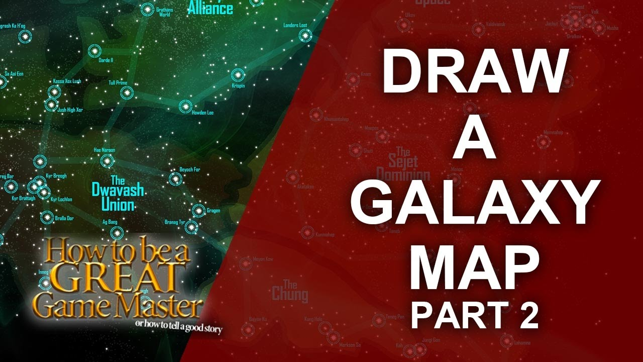 Star Map Generator Rpg.Great Gm Tutorial For Rpg Map Making For A Space Sci Fi Setting