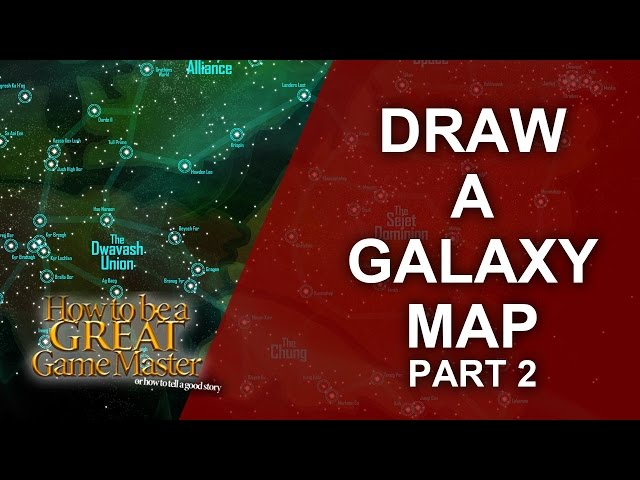 Great GM - Tutorial for rpg map making for a Space /Sci Fi Setting Part 2 - Game Master Tips #GMTips