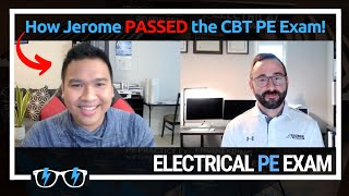 How Jerome Passed the CBT PE Exam December 2020 Electrical Power NCEES