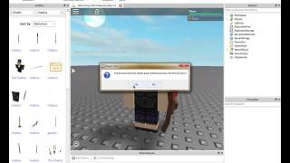"ROBLOX : How To Add Things To ""Starter Pack,"""