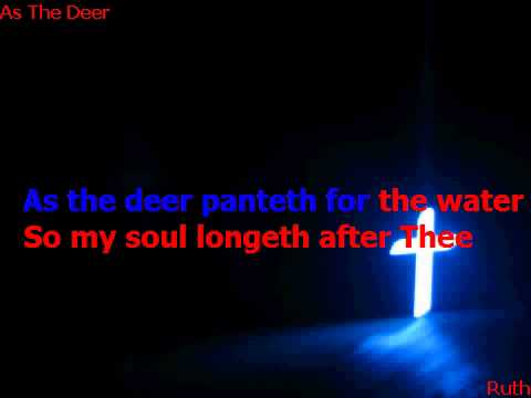 As the deer Instrument Karaoke