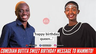 COMEDIAN BUTITA PAMPERS HIS LOVER MAMMITO WITH SWEET BIRTHDAY MESSAGE! |BTG News