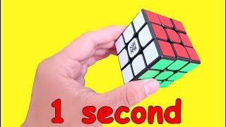 How To Solve Rubik Cube In 1 Second