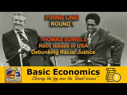 Firing Line - Thomas Sowell w/ William F. Buckley Jr. (1981)